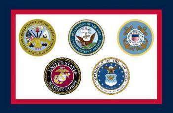 Armed Forces Flag - Nylon