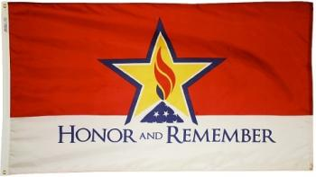 Honor and Remember Flag - Nylon
