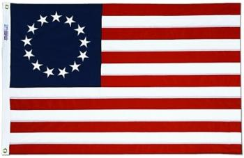 Betsy Ross Flag - Cotton - Sewn