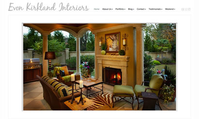 Interior Designer Web Design