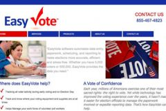 Welcome EasyVote Solutions