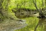 Deep Creek meanders throughout