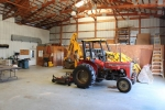 Farm equipment to convey