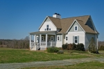 Very nice home built atop the farm's highest point- providing wonderful 360 degree views
