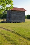 Tobacco barn equipped with power and storage space