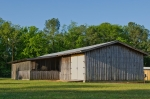 Horse barn and workshop