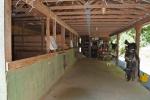 Main barn with three 12x12 stalls