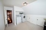Large laundry room on second floor