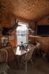 Shooting bench for the rifle range is located inside the barn.  Enjoy shooting rain or shine!