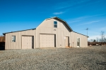 Large barn built in 2007 includes sleeping quarters, office, garage, and large amounts of storage