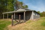 4 stall horse barn measures 36x48ft