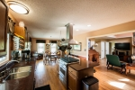 Hardwood floors throughout the home