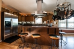 Modern kitchen tastefully done with many upgrades