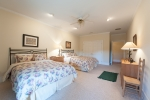 Second guest bedroom in basement