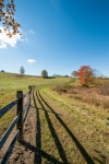 Fence types include split rail, square wire, and barbed wire