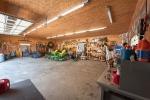 Detached garage interior