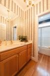2nd full bath on first floor