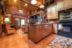 Pergo floors in den and kitchen
