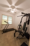 1st floor office currently utilized as an exercise room