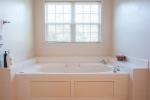 Garden tub in 2nd floor master bath
