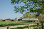 2 barns ideally positioned within close proximity to the house