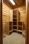 First floor master closet