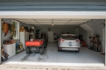 2.5 car garage with 2 utility closets and sink