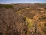 5 acre food plot area located alongside the West fork of Reedy Fork Creek