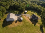 Home is surrounded by 4 acres of open land
