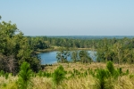 View of Ray's Lake from the Eastern property line