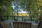 Breathtaking views from the back deck- 100ft elevation change
