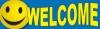 Welcome Vinyl Banner - 3' x 10' - BSF