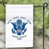 """Coast Guard Garden Flag - Nylon - 12x18"""""""