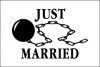 3x5' Just Married Flag