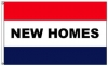 3x5' New Homes Flag - Nylon