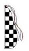 Checkered Flag Feather Dancer Kit - 13'