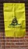 """Gadsden Garden Flag - 12"""" x 18"""" Vertical"""