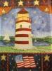 "11"" x 15"" Lighthouse Decorative Garden Banner"