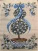 """11"""" x 15"""" Topiary Garden Decorative Garden Banner"""