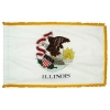 3x5' Illinois State Flag - Nylon Indoor