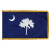 3x5' South Carolina State Flag - Nylon Indoor