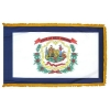 3x5' West Virginia State Flag - Nylon Indoor