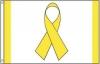 Yellow Ribbon Awareness Flag
