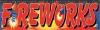 Fireworks Vinyl Banner - 3' x 10' - FWKS101