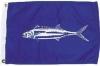 "Wahoo Nautical Fun Flag - Nylon - 12x18"""