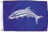 """Tarpon Nautical Fun Flag - Nylon - 12x18"""""""