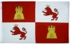 Lions and Castles Flag - Nylon - 3x5'