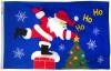 3x5' Santa Rooftop Holiday Flag - Nylon Outdoor