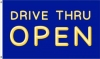 3x5' Drive Thru Open