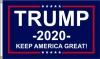 3x5' Trump 2020 Flag - Keep America Great - Blue Background